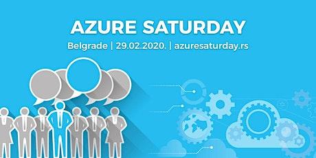 Azure Saturday Belgrade - 29.02.2020. tickets