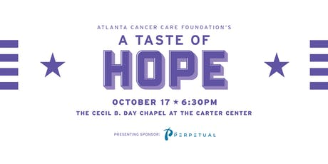 2019  A Taste of Hope tickets