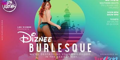 Les Vixens Diznee Burlesque Show