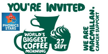 Phonics Stars Macmillan Coffee Morning tickets