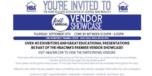 Home Builders Association of Central New Mexico's Vendor Showcase