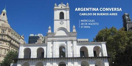 ARGENTINA CONVERSA entradas