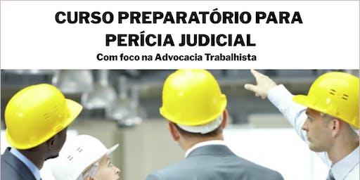 CURSO PREPARATÓRIO PARA PERÍCIA JUDICIAL