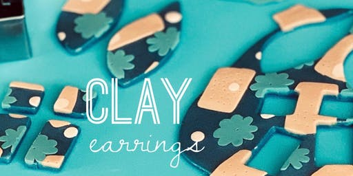 The Foundry - Clay Earrings