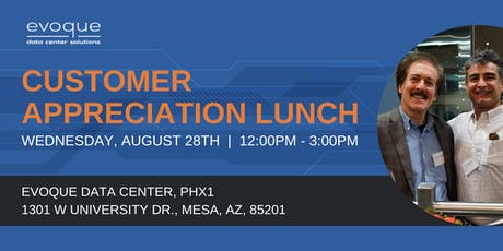 Customer Appreciation Lunch - Mesa tickets