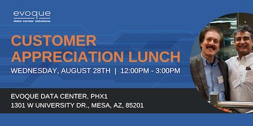 Customer Appreciation Lunch - Mesa