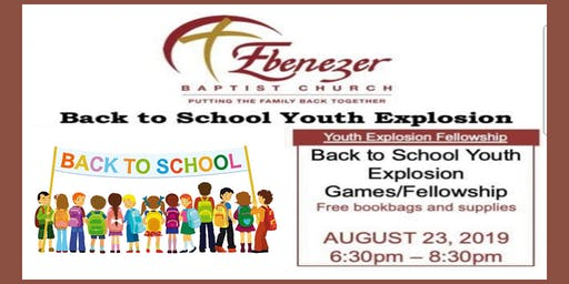 Ebenezer Baptist Church Back to School Bash
