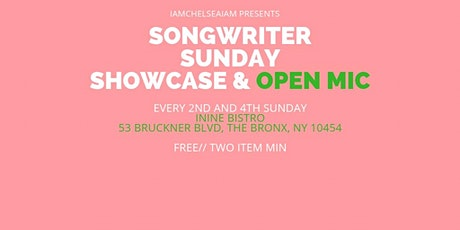 Songwriter Sunday Showcase & Open Mic tickets