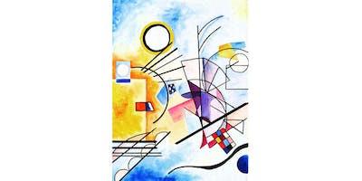 "PAINTOMANIA malt \""Like Kandinsky\"" in Hannover"