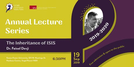 Dr. Faisal Devji:  The Inheritance of ISIS tickets