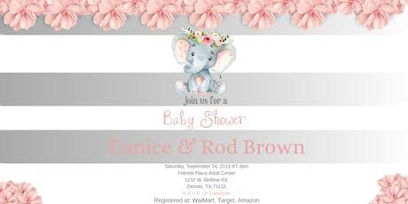 Baby Shower Honoring Eunice & Rod Brown(Baby Kaylee N. Brown) tickets