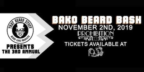 Bako Beard Bash tickets