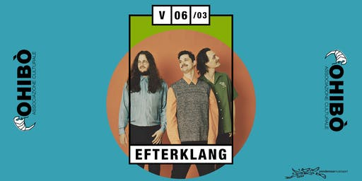 Efterklang in concerto all'Ohibò