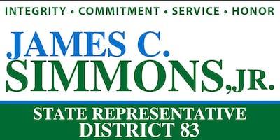 Pastors & Clergy Brunch for James C. Simmons, Jr.