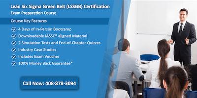 Lean Six Sigma Green Belt (LSSGB) Certification Training in Jefferson City, MO
