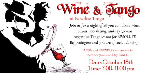 Wine & Tango - Dance and Party
