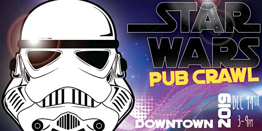 Lightsaber Pub Crawl - Houston - Downtown - December 14th