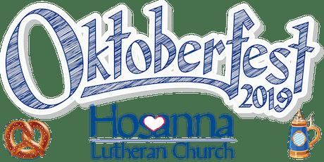 Hosanna Lutheran Church's Oktoberfest 2019 tickets