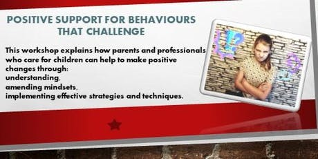 Positive Support for Behaviours that Challenge tickets