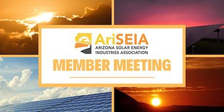 AriSEIA Member Meeting tickets