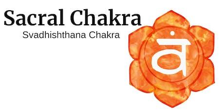 Journey Through the Chakras - Sacral Chakra tickets