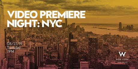 Video Premiere Night (NYC)  tickets