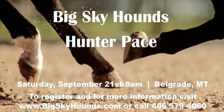Big Sky Hounds Hunter Pace tickets
