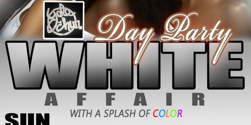 All White Affair/with a Splash of Color