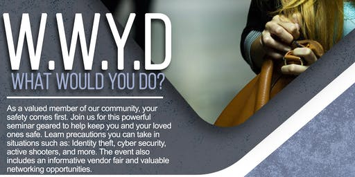 WCR STRAT PARTNER COMP TICKET LINK ONLY- What Would You Do Safety Seminar