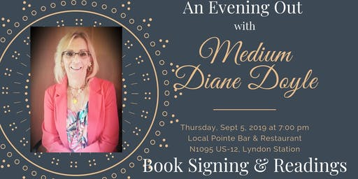 An Evening Out with Medium Diane Doyle