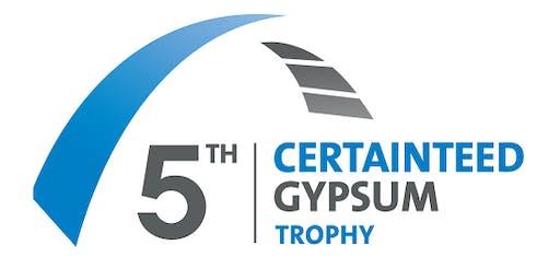 2019 CertainTeed Gypsum Trophy Event