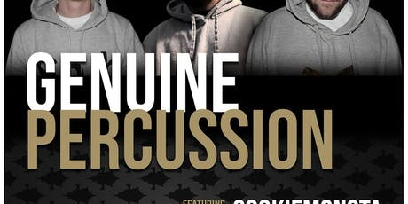 Genuine Percussion Live at The Gem tickets