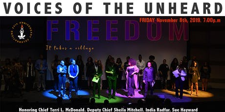 Voices of the Unheard / FREEDOM tickets