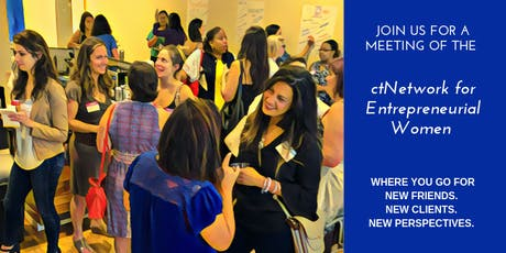 ctNetwork for Entrepreneurial Women (N.E.W.) Meeting #4 tickets