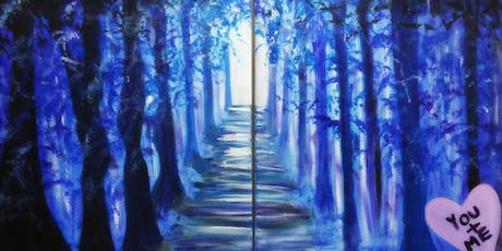 Paint Wine Denver Tunnel of Love Sat Sept 21st 7pm $40 tickets