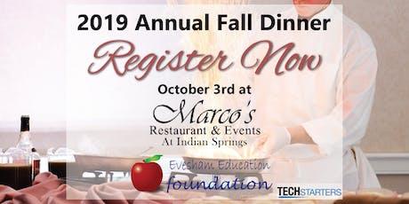 2019 Annual Fall Dinner tickets