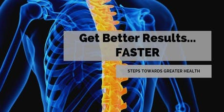 Get Better Results....Faster! tickets