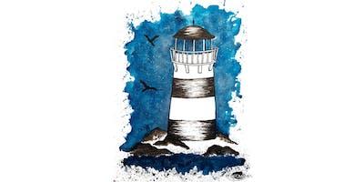 "PAINTOMANIA malt \""Lighthouse\"" in Hannover"