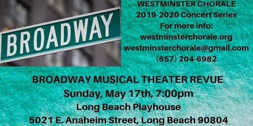 Broadway Musical Theater Revue