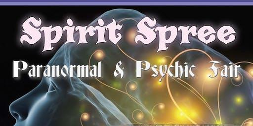 SPIRIT SPREE Paranormal & Psychic Fair