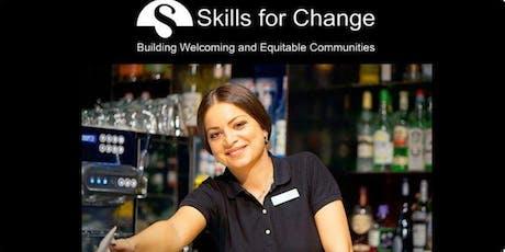 Smart Serve Certification Workshop (West)-Free for Eligible Clients tickets