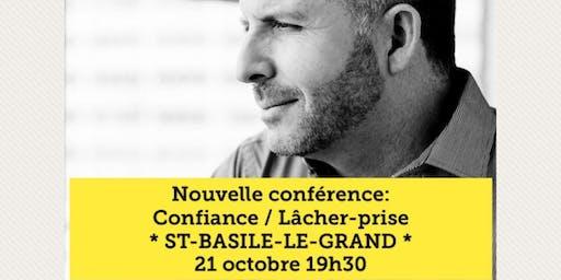 ST-BASILE-LE-GRAND - Confiance / Lâcher-prise 15$