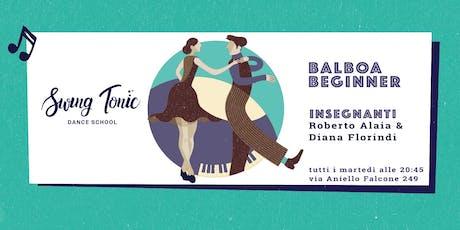 Corso di Balboa Beginner - Registrazione alla lezione di prova del 24 set biglietti