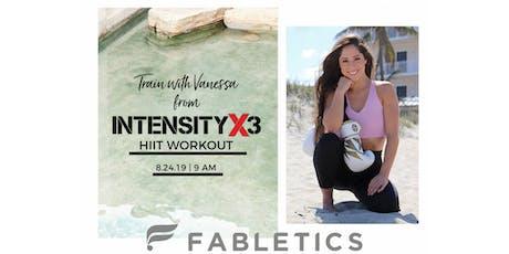 IntensityX3 with Vanessa tickets