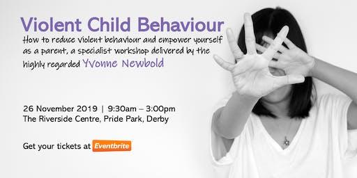 Violent Child Behaviour in SEND, a Workshop with Yvonne Newbold