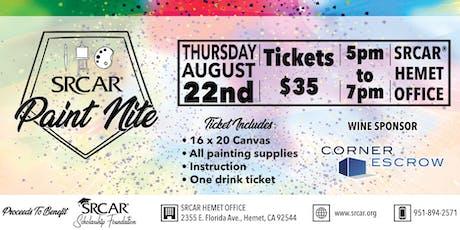 SRCAR® Paint Nite tickets