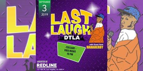 Last Laugh DTLA  tickets