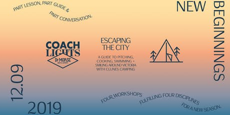 Escaping the City ~ Coachlights at Dr Morse tickets