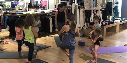 Girls Yoga with Monica at Athleta