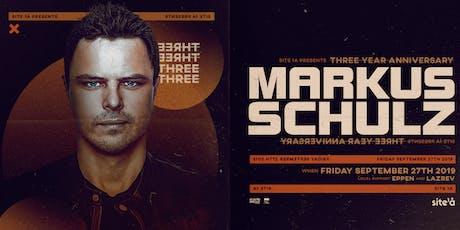 MARKUS SCHULZ [at] SITE 1A tickets